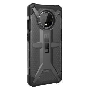 The Urban Armour Gear Plasma semi-transparent tough case in Ash for the OnePlus 7T features a protective case with a brushed metal UAG logo insert for an amazing rugged and stylish design.