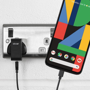 Charge your Google Pixel 4 and any other USB device quickly and conveniently with this compatible 2.5A high power USB-C UK charging kit. Featuring a UK wall adapter and a 1m USB-C cable.