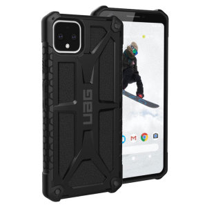The Urban Armour Gear Monarch in black for the Google Pixel 4 is quite possibly the king of protective cases. With 5 layers of premium protection and the finest materials, your Pixel 4 is safe, secure and in some style too.