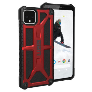 The Urban Armour Gear Monarch in crimson for the Google Pixel 4 XL is quite possibly the king of protective cases. With 5 layers of premium protection and the finest materials, your Pixel 4 XL is safe, secure and in some style too.
