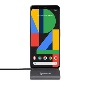 Synchronise and charge your Google Pixel 4 with the stylish, useful and compact VoltDock desktop dock from 4smarts. This handy dock also doubles as a desk stand, allowing you to display your Pixel 4 in pride of place on any flat surface.
