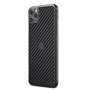 This ultra-thin full cover back protector in Carbon Fiber for the iPhone 11 Pro Max from RhinoShield offers toughness, a premium textured finish and an attractive look all in one package.