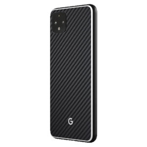 This ultra-thin full cover back protector in Carbon Fiber for the Pixel 4 XL from RhinoShield offers toughness, a premium textured finish and an attractive look all in one package.