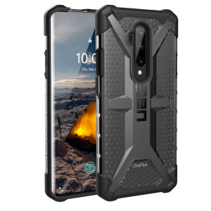 The Urban Armour Gear Plasma semi-transparent tough case in Ash for the OnePlus 7T Pro features a protective case with a brushed metal UAG logo insert for an amazing rugged, stylish & lightweight design.