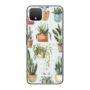 LoveCases Google Pixel 4 Plants Clear Phone Case