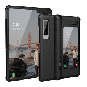 The Urban Armour Gear Monarch in black for the Samsung Galaxy Fold is quite possibly the king of protective cases. With 5 layers of premium protection and the finest materials, your Galaxy Fold is safe, secure and in some sophisticated style too.