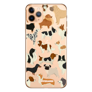 Give your iPhone 11 Pro Max a cute new look with this Dogs design phone case from LoveCases. Cute but protective, the ultra-thin case provides slim fitting and durable protection against life's little accidents