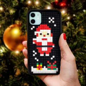 Olixar iPhone 11 Mini Block Santa case is the present that keeps on giving. This case is an ideal way to get into the Christmas spirit whilst still protecting your device. Ideal as a stocking filler and secret Santa gifts.