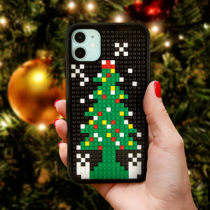 Olixar iPhone 11 Mini Block Christmas tree is the present that keeps on giving. This case is an ideal way to get into the Christmas spirit whilst still protecting your device. Ideal as a stocking filler and secret Santa gifts.