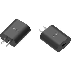 An Official Nokia US (United States) adaptive fast mains charger for your Smartphone. With a power output of 10W, you'll have battery within minutes. This charger is ultra quick giving you juice to any device quickly.. This is an official accessory.