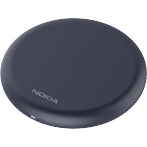 Wirelessly charge your smartphone with Wireless Fast Charge technology using this official Nokia Qi Wireless Charging Pad in Midnight Blue. Lightweight & compact design this is the perfect wireless charger to travel use.