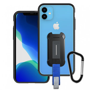 Equip your iPhone 11 with premium protection with the new Armor-X Case Clear from Armor-X. With an integrated X-Mount adaptor this case meets your lifestyle needs with a magnet, carabiner, tool box holder, activekey grip strap & pin holder.