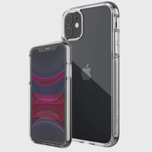 The X-Doria Defense 360X Clear Case comes with a scratch resistant crystal clear front tempered glass case and plastic back case for all round 360° protection for your iPhone 11 & fitted with a rubber frame it is completely shock absorbent.
