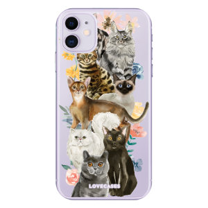 Give your iPhone 11 a cute new look with this Cats design phone case from LoveCases. Cute but protective, the ultra-thin case provides slim fitting and durable protection against life's little accidents