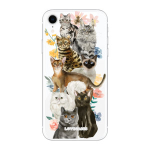 Give your iPhone XR a cute new look with this Cats design phone case from LoveCases. Cute but protective, the ultra-thin case provides slim fitting and durable protection against life's little accidents