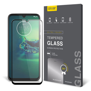 This ultra-thin tempered glass screen protector for the Motorola Moto G8 Plus from Olixar offers toughness, high visibility and sensitivity all in one package.