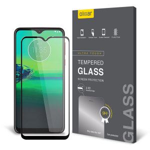 This ultra-thin tempered glass screen protector for the Motorola Moto G8 Play from Olixar offers toughness, high visibility and sensitivity all in one package.