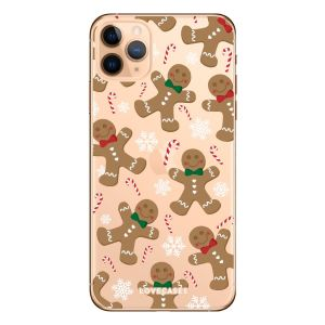 Give your iPhone 11 Pro Max a festive new look with this Christmas gingerbread phone case from LoveCases. Cute but protective, the ultra-thin case provides slim fitting and durable protection against life's little accidents.