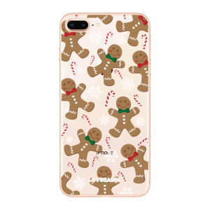 Give your iPhone 8 plus plus a festive new look with this Christmas gingerbread phone case from LoveCases. Cute but protective, the ultra-thin case provides slim fitting and durable protection against life's little accidents.