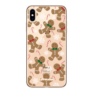 Give your iPhone X a festive new look with this Christmas gingerbread phone case from LoveCases. Cute but protective, the ultra-thin case provides slim fitting and durable protection against life's little accidents.