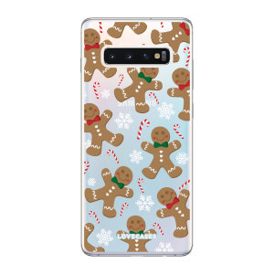 Give your Samsung S10 5G a festive new look with this Christmas gingerbread phone case from LoveCases. Cute but protective, the ultra-thin case provides slim fitting and durable protection against life's little accidents.