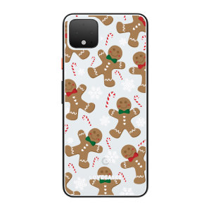 LGive your Google Pixel 4 XL  a festive new look with this Christmas gingerbread phone case from LoveCases. Cute but protective, the ultra-thin case provides slim fitting and durable protection against life's little accidents.