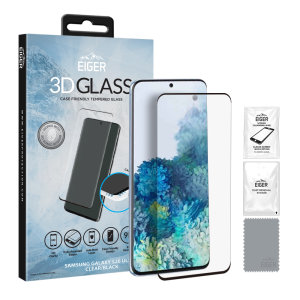Introducing the ultimate in screen protection for the Samsung Galaxy S20 Ultra, the 3D Glass by Eiger is made from premium real tempered glass with rounded edging and anti-shatter glass for a perfect fit and ultimate protection for your S20 Ultra.