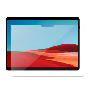 Olixar Microsoft Surface Pro X Tempered Glass Screen Protector
