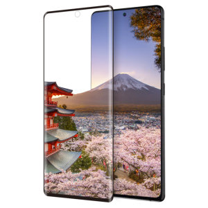 Introducing the ultimate in screen protection for the Samsung Galaxy S10 Lite, the 3D Glass by Eiger is made from premium real tempered glass with rounded edging and anti-shatter glass for a perfect fit and ultimate protection for your S10 Lite.