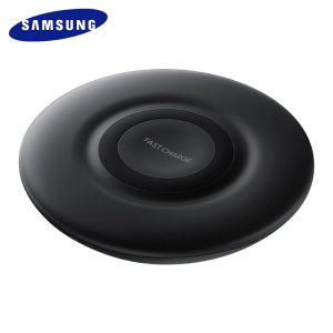 Charge your Samsung Galaxy S10 Lite quickly with the official fast wireless charging pad in black. Spend less time waiting around for your phone to charge and more time doing what you want to do with this official fast wireless charging pad.