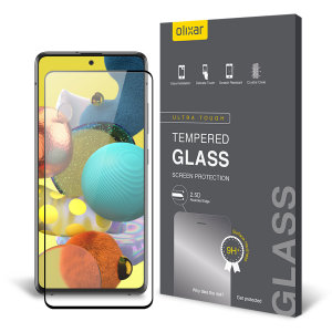 This ultra-thin tempered glass screen protector for the Samsung Galaxy A51 from Olixar offers toughness, high visibility and sensitivity all in one package.