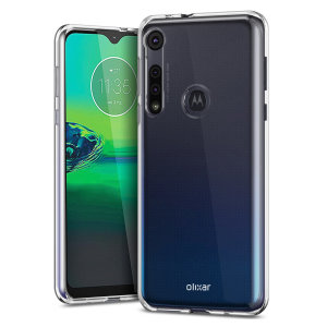 Custom moulded for the Motorola Moto G8 Play, this 100% clear Ultra-Thin case by Olixar provides slim fitting and durable protection against damage.