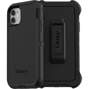 Protect your iPhone 11 with the toughest and most protective case on the market - the black OtterBox Defender Series. Fully compatible with force touch, you can continue to use all of your iPhone's features whilst keeping it fully protected.