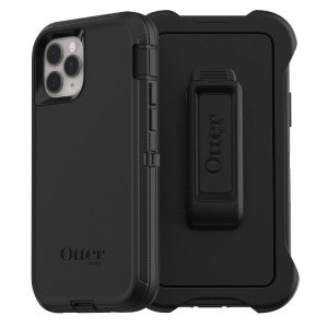 Protect your iPhone 11 Pro with the toughest and most protective case on the market - the black OtterBox Defender Series. Fully compatible with force touch, you can continue to use all of your iPhone's features whilst keeping it fully protected.
