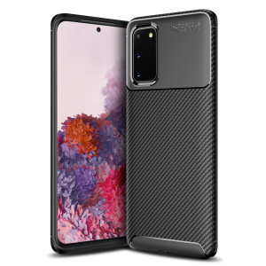 Olixar Carbon Fibre case is a perfect choice for those who need both the looks and protection! A flexible TPU material is paired with an eye-catching carbon print to make sure your Samsung Galaxy S20 is well-protected and looks good in any setting.
