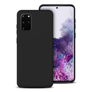 Custom moulded for the Samsung Galaxy S20 Plus, this black soft silicone case from Olixar provides excellent protection against damage as well as a slimline fit for added convenience.