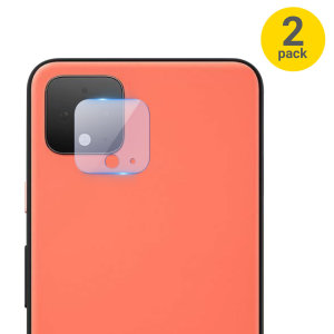 This 2 pack of ultra-thin tempered glass rear camera protectors for the Google Pixel 4 from Olixar offers toughness and superb clarity for your photography all in one package.