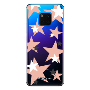 Give your Huawei Mate 20 Pro a cute new look with this Pink Star design phone case from LoveCases. Cute but protective, the ultra-thin case provides slim fitting and durable protection against life's little accidents