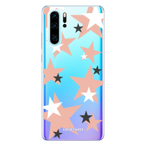 Give your Huawei P30 Pro  a cute new look with this pink star design phone case from LoveCases. Cute but protective, the ultra-thin case provides slim fitting and durable protection against life's little accidents.