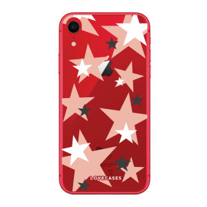 Give your iPhone XR a cute new look with this Pink Star design phone case from LoveCases. Cute but protective, the ultra-thin case provides slim fitting and durable protection against life's little accidents