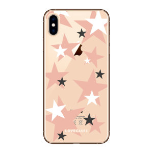 Give your iPhone XS Max a cute new look with this Pink Star design phone case from LoveCases. Cute but protective, the ultra-thin case provides slim fitting and durable protection against life's little accidents