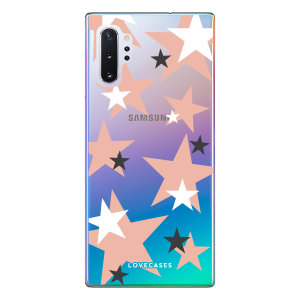 Give your Samsung Note 10 Plus a cute new look with this Pink Star design phone case from LoveCases. Cute but protective, the ultra-thin case provides slim fitting and durable protection against life's little accidents