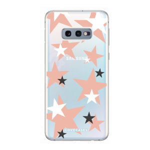 Give your Samsung S10e a cute new look with this Pink Star design phone case from LoveCases. Cute but protective, the ultra-thin case provides slim fitting and durable protection against life's little accidents