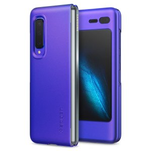 Durable and lightweight, the Spigen Thin Fit series for the Samsung Galaxy Fold offers premium protection in a slim, stylish package. Carefully designed the Thin Fit case in purple is form-fitted for a perfect fit.