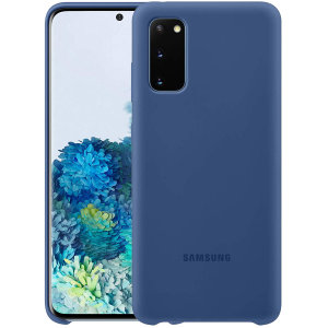 Protect your Samsung Galaxy S20 with this Official silicone case in navy. Simple yet stylish, this case is the perfect accessory for your Samsung Galaxy S20.