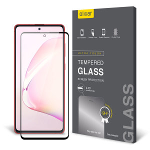 This ultra-thin tempered glass screen protector for the Samsung Galaxy Note 10 Lite from Olixar offers toughness, high visibility and sensitivity all in one package.