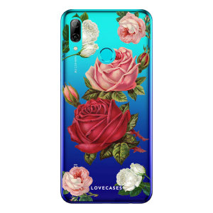 Give your Huawei P Smart 2019 a cute new look with this Roses design phone case from LoveCases. Cute but protective, the ultra-thin case provides slim fitting and durable protection against life's little accidents