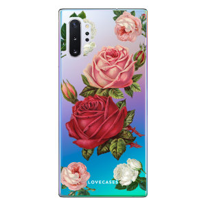 Give your Samsung Note 10 5G a cute new look with this Valentines Roses design phone case from LoveCases. Cute but protective, the ultra-thin case provides slim fitting and durable protection against life's little accidents