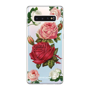 Give your Samsung S10 5G a cute new look with this Roses design phone case from LoveCases. Cute but protective, the ultra-thin case provides slim fitting and durable protection against life's little accidents