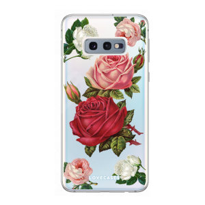 Give your Samsung S10e a cute new look with this Roses design phone case from LoveCases. Cute but protective, the ultra-thin case provides slim fitting and durable protection against life's little accidents